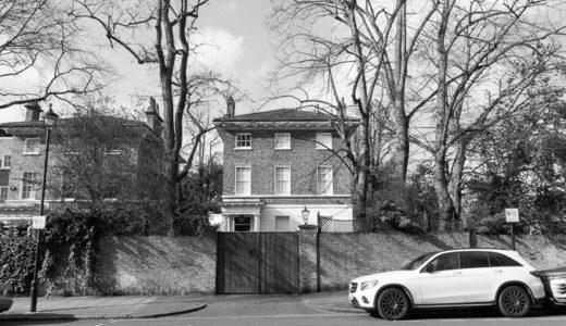 かつてポールが住んでいたセントジョンズウッドにある家に行ってみた