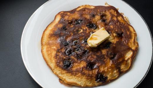 リンカーンバローズ特製ブルーベリーパンケーキを真似して作ってみた【プリズンブレイク】