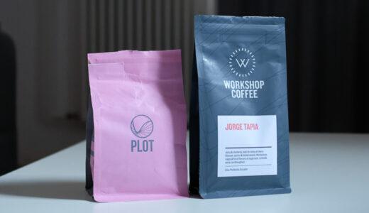 PLOT RoastingとWorkshop Coffeeの豆を入手する【イギリスのコーヒーが恋しい今日この頃】